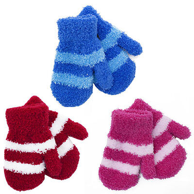 Soft Touch Baby Magic Mittens Gloves Boys & Girls Winter One Size