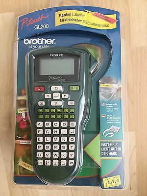 Brother GL200 Thermal Printer Labeller - Garden, Shed, Office, Kitchen etc