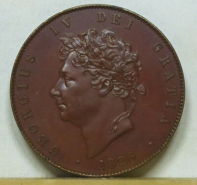 Great Britain Proof Half Penny 1826 Choice Proof