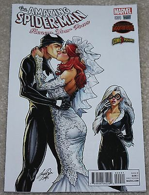 Amazing Spider-Man Renew Your Vows 4 Siya Oum Mj Variant Like 606 J Campbell 3
