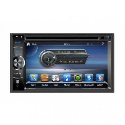 TAKARA GPV1826BT Autoradio 2DIN DVD GPS USB Bluetooth 6,2' - autoradio double di