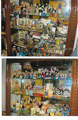 POPEYE Collection over 3100 pcs tins, LE, figs, dolls, toys, pins, 30's - 2010