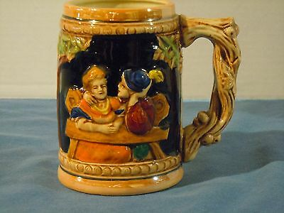 Ceramic Beer Steins Pottery 2-Steins