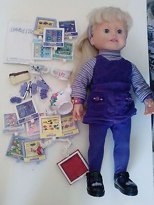 """Amazing Ally 18"""" Interactive Doll with accesories (Used)"""