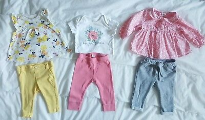Lot Of Girls Baby Gap Old Navy Clothes Size 3 6 Months 27 00