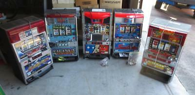 Lot of (5) Assorted Electronic Slot Machines