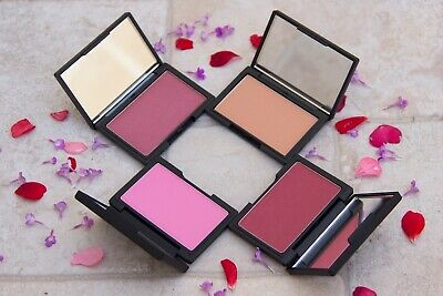 SLEEK MAKEUP CHEEK SHIMMER BLUSH Single Powder BLUSHER: ROSE GOLD / POMEGRANATE