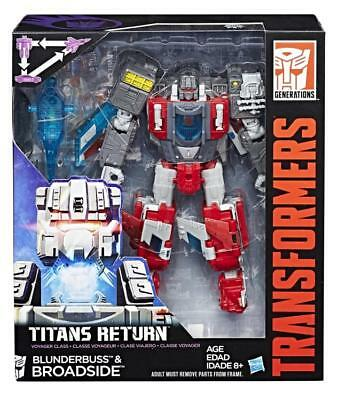 Transformers Titans Return Voyager Broadside and Blunderbuss NEW