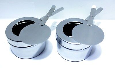 Original 2 Fuel Holders for TigerChef 8 Quart Full Size Stainless Steel Chafer