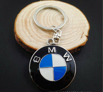 Car Keyring Key Chain Stainless Steel Badge Emblem BMW Quality Made
