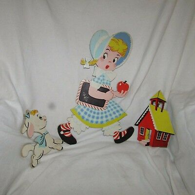 Vintage 1950s Dolly Toy Co Mother Goose Pin Ups Mary Had A Little Lamb #228