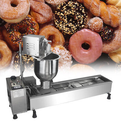 High standard Commercial Automatic Donuts Maker Making Machine,Wide Oil Tank x