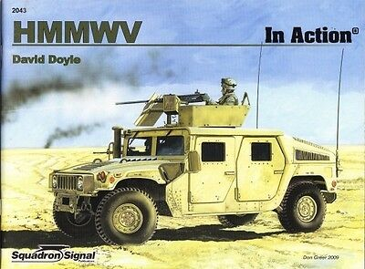 Squadron Signal Armor 43 HMMWV in action ( Golfkrieg US Army Panzer tank )