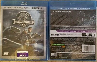 blu ray 3d + 2d JURASSIC WORLD copie digitale