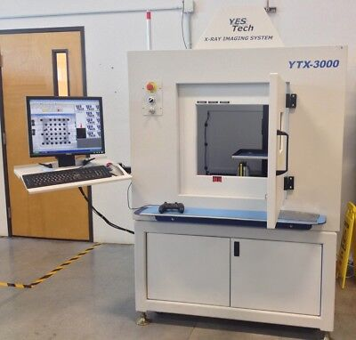 Used SMT X -Ray inspection,Yestech YTX3000, 3-D, 2-D,High Resolution XRay