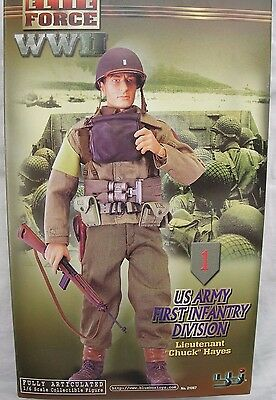 "BBI Elite Force collectable action figure 1/6 scale 12"" WW2 US Army Chuck Hayes"