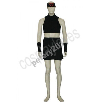 FullMetal Alchemist Envy Cosplay Costume Men