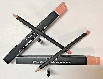 MAC LOT OF 2 Lip Pencil Crayon in the Shade of Naked Liner (Nude)
