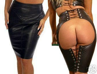 Aw-206   Lederrock,leather Skirt/rock En Cuir/fetisch,leder Rock