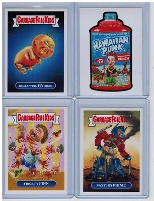 2017 GPK Garbage Pail Kids Network Spews Wacky Packages 9-Card Bundle Lot SP