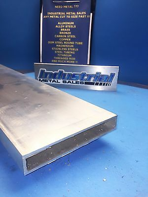 "1"" x 6"" x 48""-Long x 1/8"" Wall 6063 T52 Aluminum Rectangle Tube-->1"" x 6"" x .125"