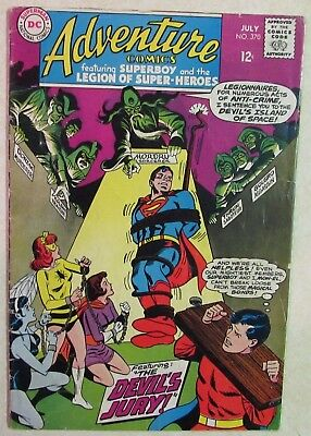 DC Comics - Adventure Comics - #370 - Silver Age -1960s - Superboy - Under Guide