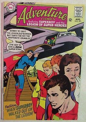 DC Comics - Adventure Comics - #371 - Silver Age -1960s - Superboy - Under Guide