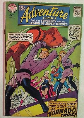 DC Comics - Adventure Comics - #373 - Silver Age -1960s - Superboy - Under Guide