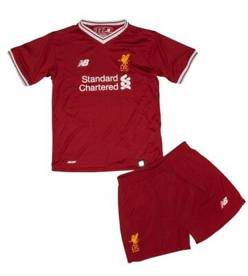 Football Kit For Kids Liverpool Home Red New Season Fast Delivery