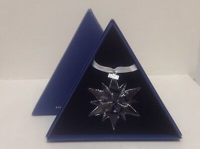Swarovski 2017 Annual Edition Large Star Holiday Ornament #5257589