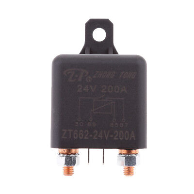 DC 24V 200A 4-Pin Automotive Auto High Current Split Charge SPST Relays