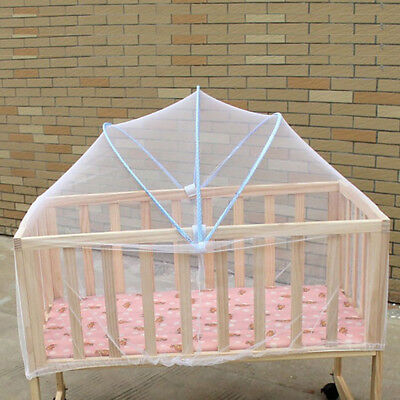 Mesh Mosquito Curtain Net Arched netting For baby Toddler Crib Bed Cot Nursery