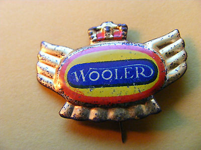 WOOLER  motorcycle very old lapel,hat pin badge