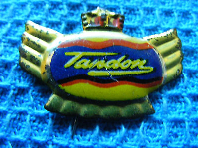 TANDON  motorcycle very old lapel,hat pin badge(A).