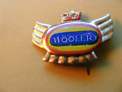 WOOLER  motorcycle very old lapel,hat pin badge(A)