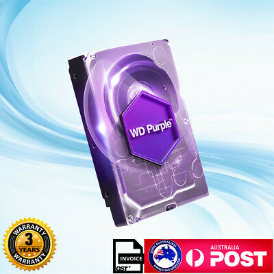 "OEM Western Digital WD Purple 3.5"" 1TB 2TB 3TB Surveillance Internal Hard Drive"