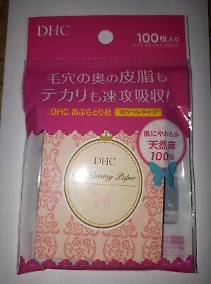 DHC Oil Blotting Paper 100 Sheets Brand New & Sealed!