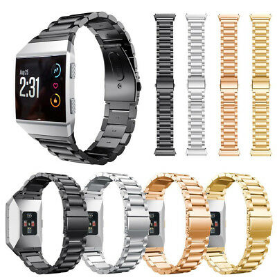 Replacement Link Metal Band for Fitbit Ionic Secure Strap *UK* Wristband Heavy