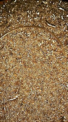 Metal Shavings Swarf and Metal Solids For arts crafts and hobbies and Orgonite