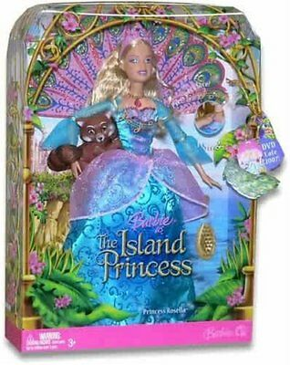 Barbie as The Island Princess 12 Inch Doll - Princess Rosella with Peacock Tail
