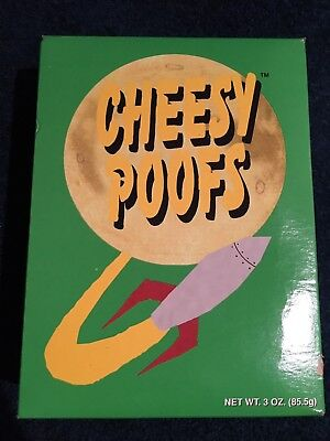 Vintage 1998 Comedy Central SOUTH PARK CHEESY POOFS Stan BOX Rare