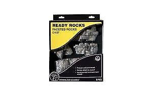 WOODLAND SCENICS C1137 Ready Rocks Faceted Rocks