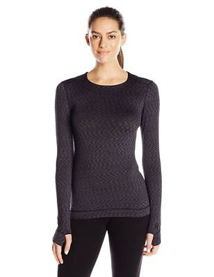 Cuddl Duds Womens Flexfit Exercise Athletics Outdoor Thermal Long Sleeve New Top