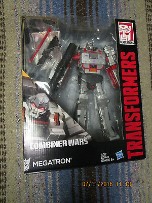 ZX Transformers Generation Lot COMBINER WARS G1 MEGATRON Leader Class Tank #2 g2