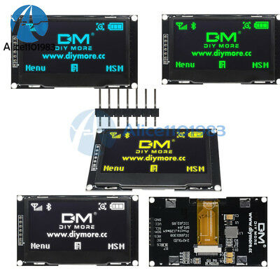 """RGB 2.42"""" inch OLED LCD Display SSD1309 12864 SPI Serial Port for Arduino C51"""