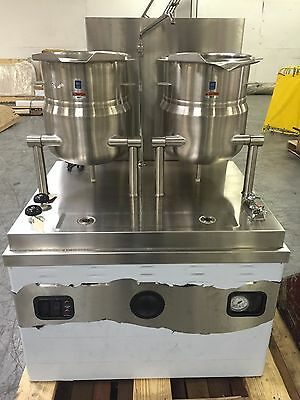 NEW Market Forge Two 6 gal SS Tilting Kettle Steam Cabinet MT6T6M36G