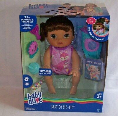 New Baby Alive Better Now Bailey Interactive Girl Doll