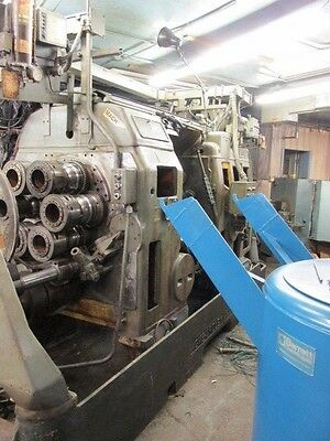 """ACME-Gridley 3 1/2"""" RB6 Bar Machine *Carrier Reconditioned* NEW 1980"""