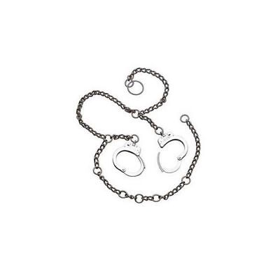 Smith & Wesson Model 1800 Belly Chains Nickel Restraint Chains