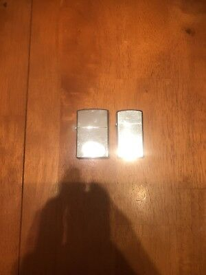 Vintage Lot Zippo Mini And Chinese Lighter